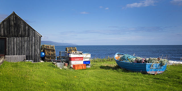 "brora, Scotland, ""North Sea"", coast, boat"