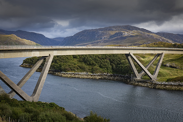 The Kylescu Bridge, Sutherland, Scotland