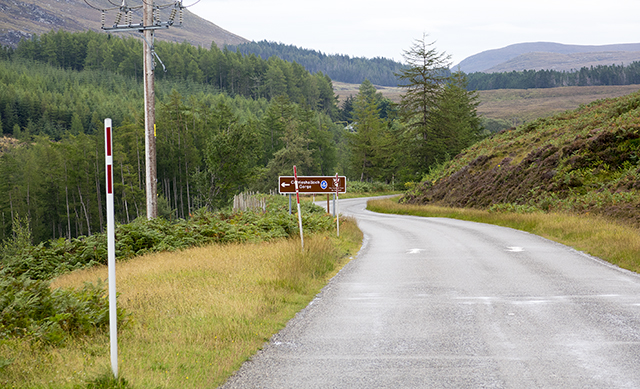 NC500, coast, Ullapool, road, Scotland, South